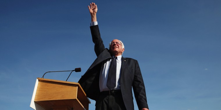 Sen. Bernie Sanders Launches Presidential Bid In Vermont
