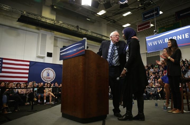 Democratic Presidential Candidate Bernie Sanders Holds Student Town Hall In Fairfax, Virginia