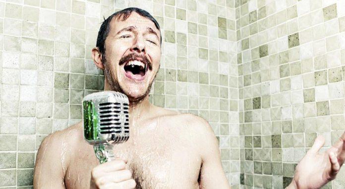 Bathroom-Singer